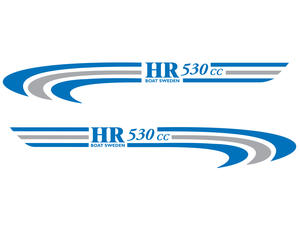 Dekal HR 530cc